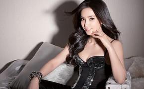 Picture look, pose, makeup, figure, actress, hair, look, pose, actress, makeup, Li Bingbing, Li Bingbing