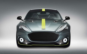 Picture Aston Martin, Rapide, front view, 2018, AMR
