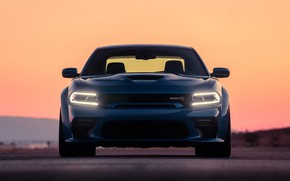 Picture the evening, Dodge, Charger, Hellcat, SRT, Widebody, 2020