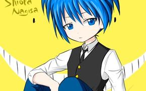 Picture boy, knife, The class assassins, Shiota Nagisa