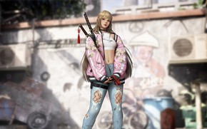 Picture Girl, Blonde, Style, Girl, Art, Art, Beauty, Style, Beauty, Blonde, Katana, Rendering, Rendering, Cute, Cute, …