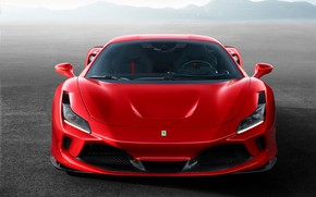 Picture machine, lights, optics, Ferrari, sports car, F8 Tributo