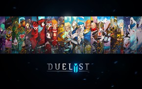 Picture fantasy, game, digital art, artwork, concept art, characters, simple background, Duelyst