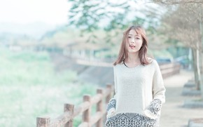 Picture girl, woman, asian, cute