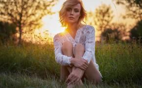 Picture summer, girl, face, model, Martin Fuhrmann