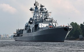 Picture ship, large, anti-submarine, Severomorsk