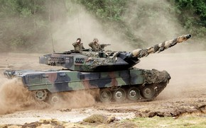 Picture army, tank, Bundeswehr