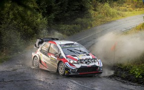 Picture rally, toyota, wrc, yaris, wales