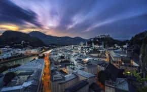 Picture night, Austria, Salzburg