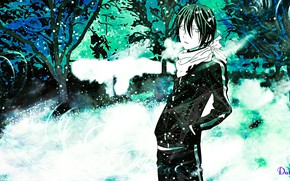 Picture guy, God, A Homeless God, Noragami, Yato