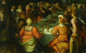 Picture oil, picture, 1613, Otto van Veen, Otto van Veen, Заговор Клавдия Цивилиса Предводителя Батавов