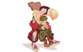 Picture Apple, anime, art, girl, Gilgamesh, Fate / Grand Order, The destiny of a great campaign