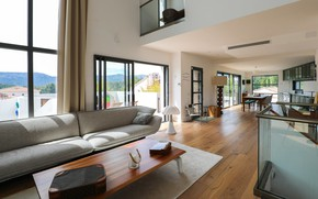 Picture design, style, interior, kitchen, living room, dining room, Marseille