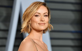 Picture look, pose, smile, makeup, actress, Olivia Wilde, Olivia Wilde, hair