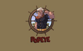 Picture Art, Old, Popeye, Character, Popeye the Sailor, logicfun color, Seaman