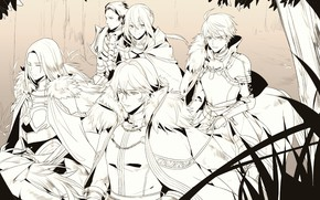 Picture Fate/stay night, Saber, Archer, Fate/Grand Order, Bedivere, Gawain, Tristan, Saber (Lancelot), Saber (Fate/Prototype), Horseback Riding
