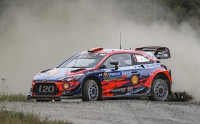 Picture wrc, hyundai, i20 coupe, rally finland