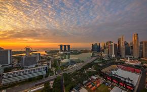 Picture panorama, Asia, Singapore
