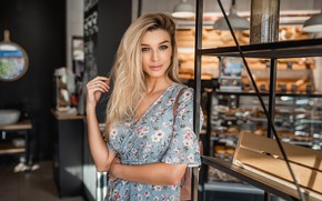 Picture look, smile, Girl, blonde, A Diakov George