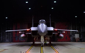 Picture Eagle, the fourth generation, McDonnell Douglas, F-15C, American single all-weather fighter, superiority in the air