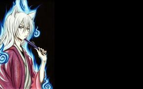 Picture look, lights, fan, Kamisaa The Hajimemashita, Very nice God, Tomoya