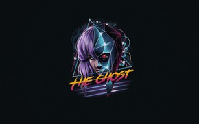 Picture Minimalism, Ghost, Art, Neon, Cyber, Synth, Retrowave, The Ghost, Synthwave, New Retro Wave, Futuresynth, Sintav, …