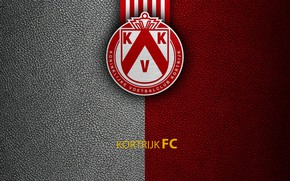 Picture wallpaper, sport, logo, football, Belgian Jupiler PRO-League, KV Kortrijk
