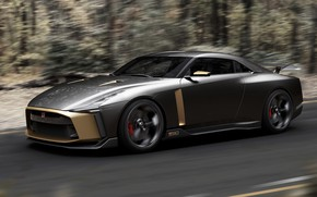 Picture Concept, speed, Nissan, 2018, ItalDesign, GT-R50