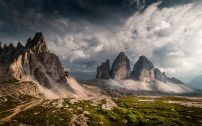 Picture mountains, Italy, The Dolomites