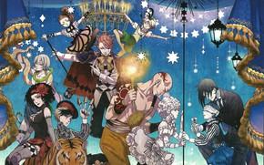 Picture circus, Kuroshitsuji, Dark Butler, artists, Book of circus