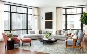 Picture room, interior, megapolis, living room