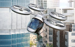 Picture future, drone, engineering, fly car