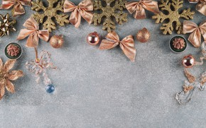 Picture decoration, balls, New Year, Christmas, Christmas, balls, New Year, decoration, Merry