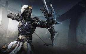 Picture bow, arrow, Archer, Warframe