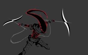 Picture weapons, warrior, chain, Bleach, Bleach