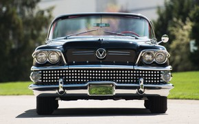 Picture Vintage, Convertible, Buick, 1958, Luxury
