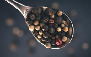 Picture background, spoon, pepper