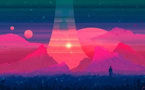 Picture Mountains, Rocks, Mountain, Planet, View, Planet, Fantasy, Landscape, Planets, Art, Art, Landscape, Planet, Mountain, Fiction, …
