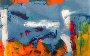 Picture paint, canvas, color, strokes, color, paint, canvas, brush strokes