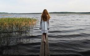 Picture water, girl, Aleks Five, Elizabeth Malivanova