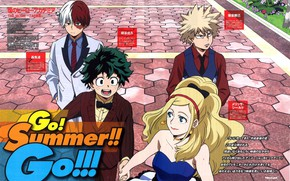 Picture girl, guys, My hero Academy, My Hero Academia, Boku No Hero Academy, Midori Isuku, Todoroki …