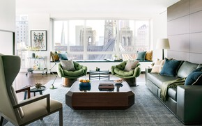 Picture design, style, interior, living room, small spaces