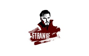 Picture white background, Benedict Cumberbatch, Doctor Strange, Doctor Strange, by mad42sam