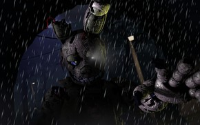 Picture rain, Five Nights At Freddy's, Five nights at Freddy's, mechanical doll