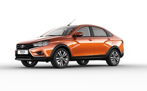 Picture sedan, Lada, Lada, sedan, 2018, Cross, Vesta, Vesta, AvtoVAZ