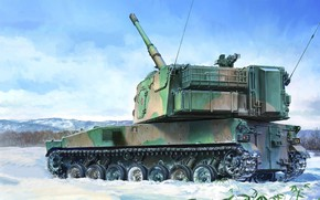 Picture sau, The type 99, 155 mm, The self-defense forces of Japan, SPG, JGSDF Type 99 …