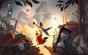 Picture the game, tale, adventure, Electronic Arts, It Takes Two, Hazelight, кооператив