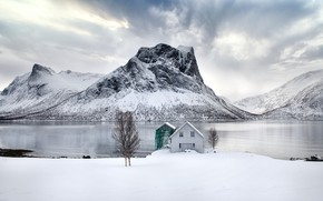 Picture Norway, Senja, Boat House
