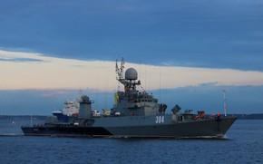 Picture ship, anti-submarine, small, Baltika, Urengoy