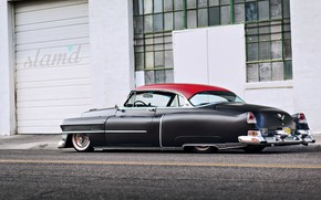 Picture Cadillac, Old, Vintage, Custom, Deville